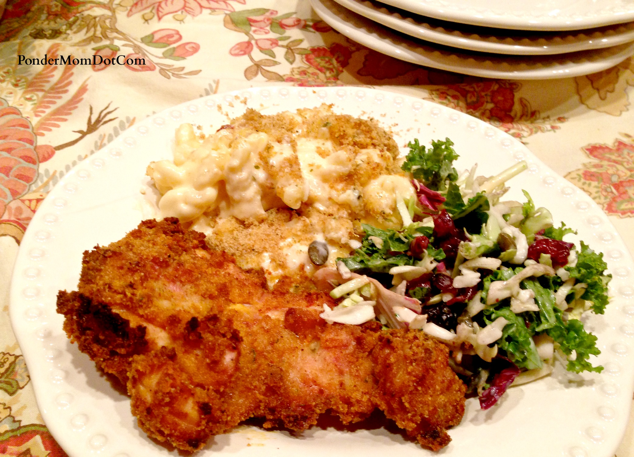 PonderMom.Com » Blog Archive » Oven-Fried Chipotle Chicken