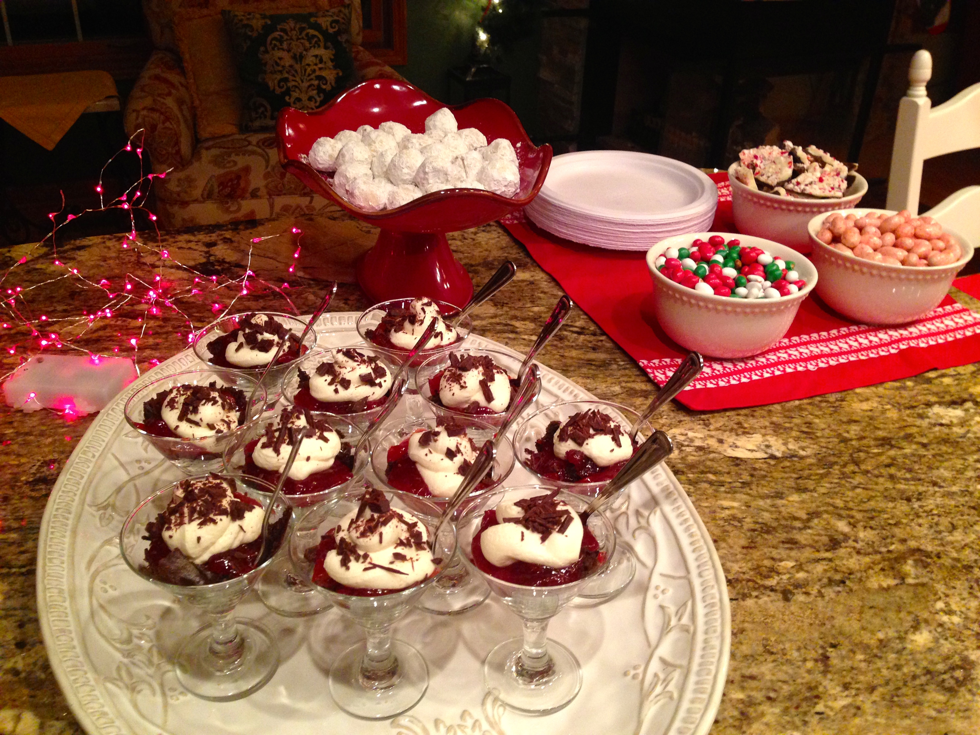 Mini Black Forest Trifles