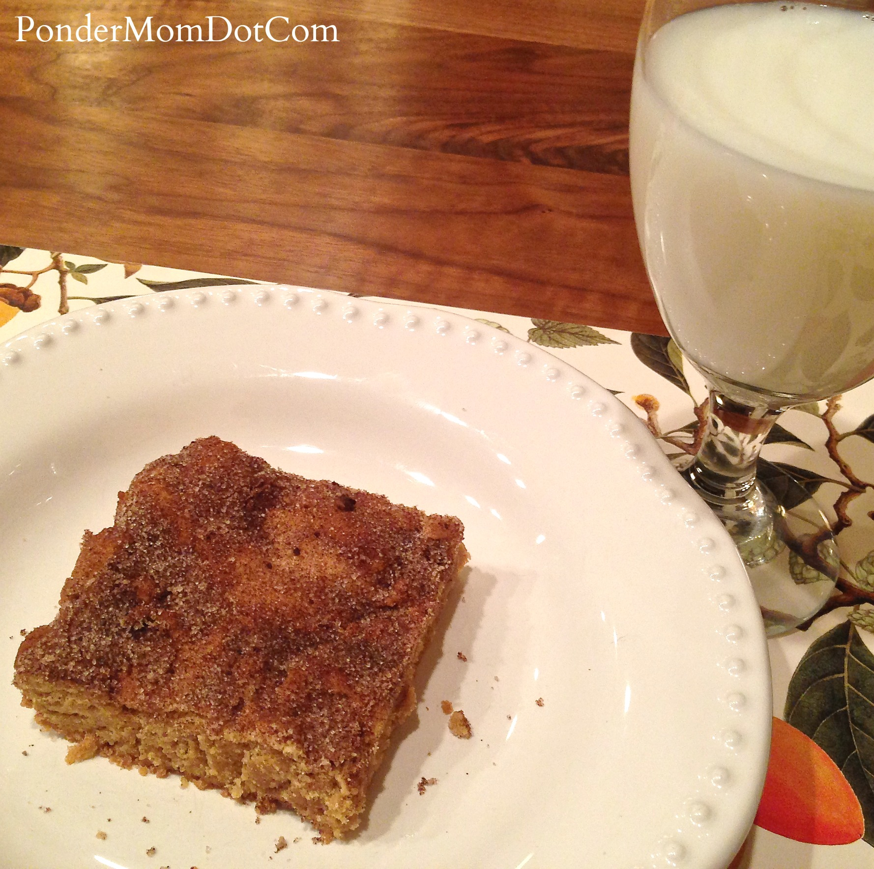 Snickerdoodle Blondies: Celebrating National Blonde Brownie Day