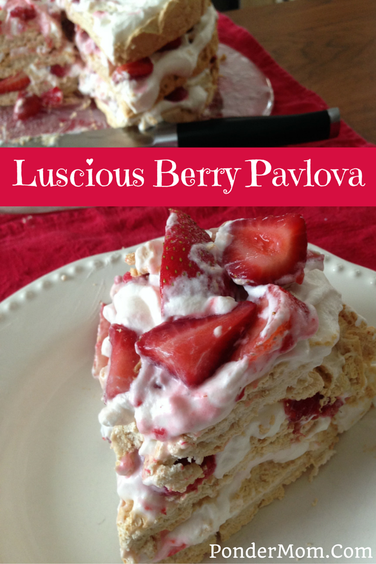 Three-Layer Berry and Brown Sugar Pavlova: Your Perfect Non-Chocolate ...