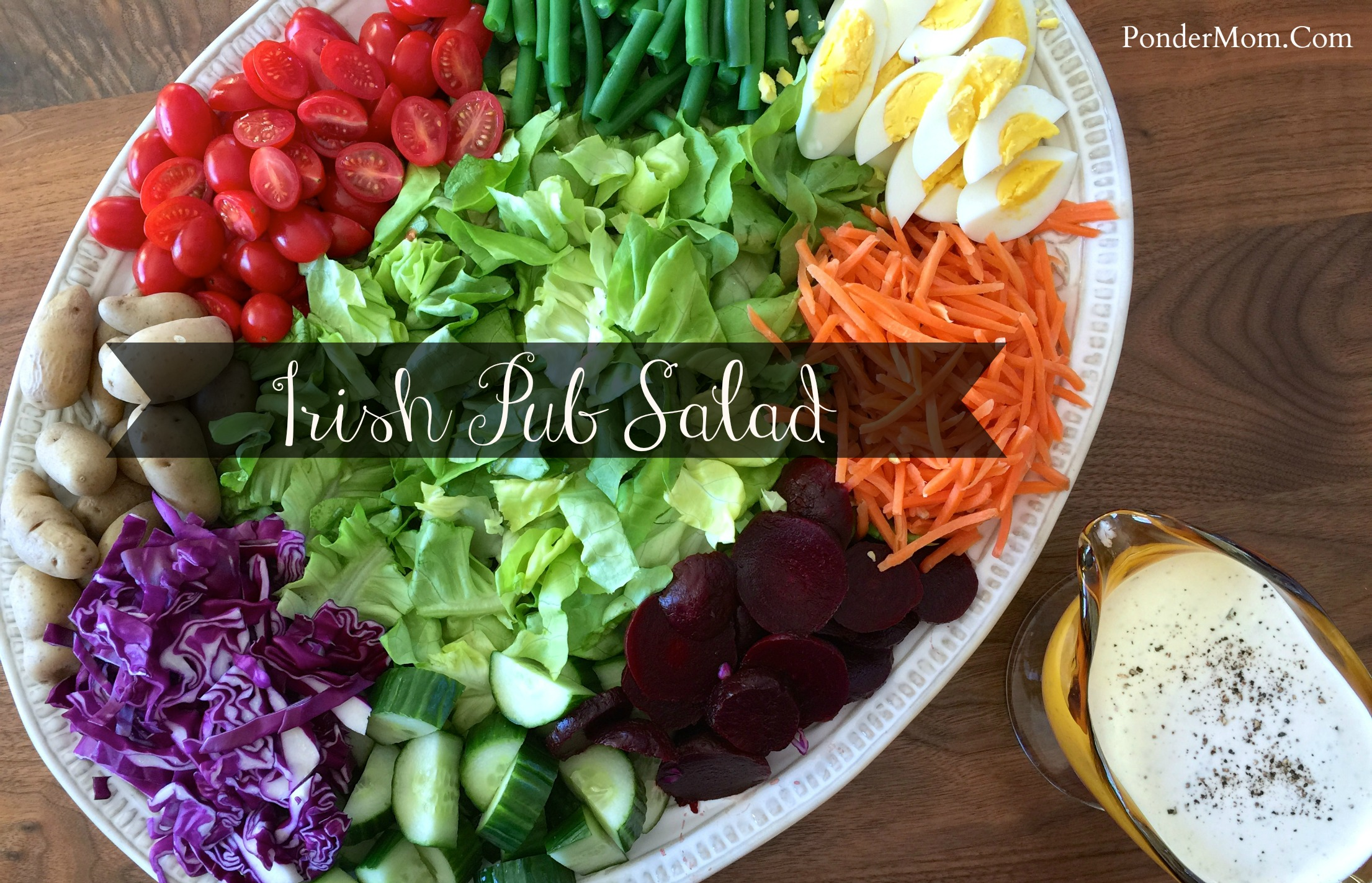 A Saint Patrick's Day Series of Side Dishes and Desserts: Irish Pub Salad