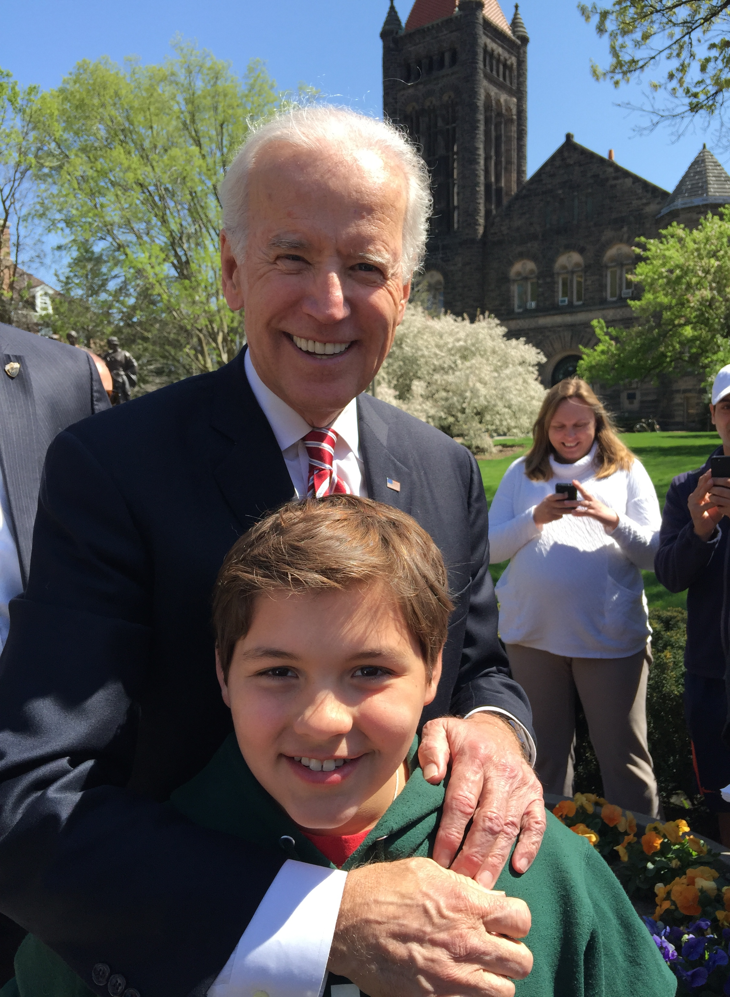 Meeting the Vice President: A Serendipitous Affair