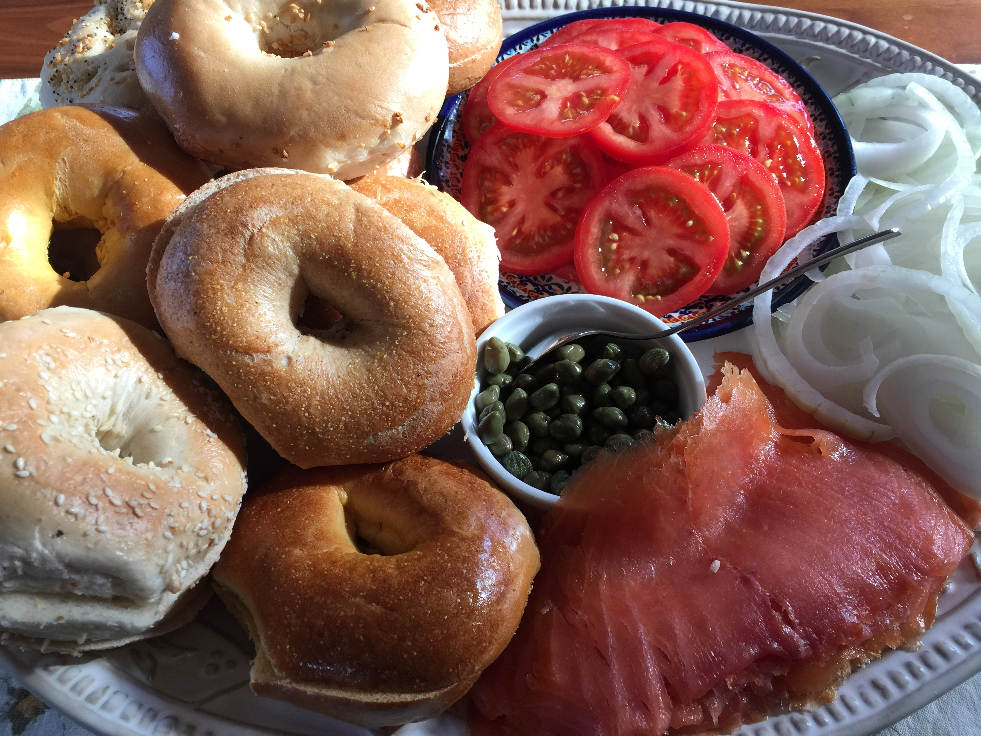 Mother's Day Brunch Options: 4 Luscious Egg Dishes and a Deluxe Bagel Platter