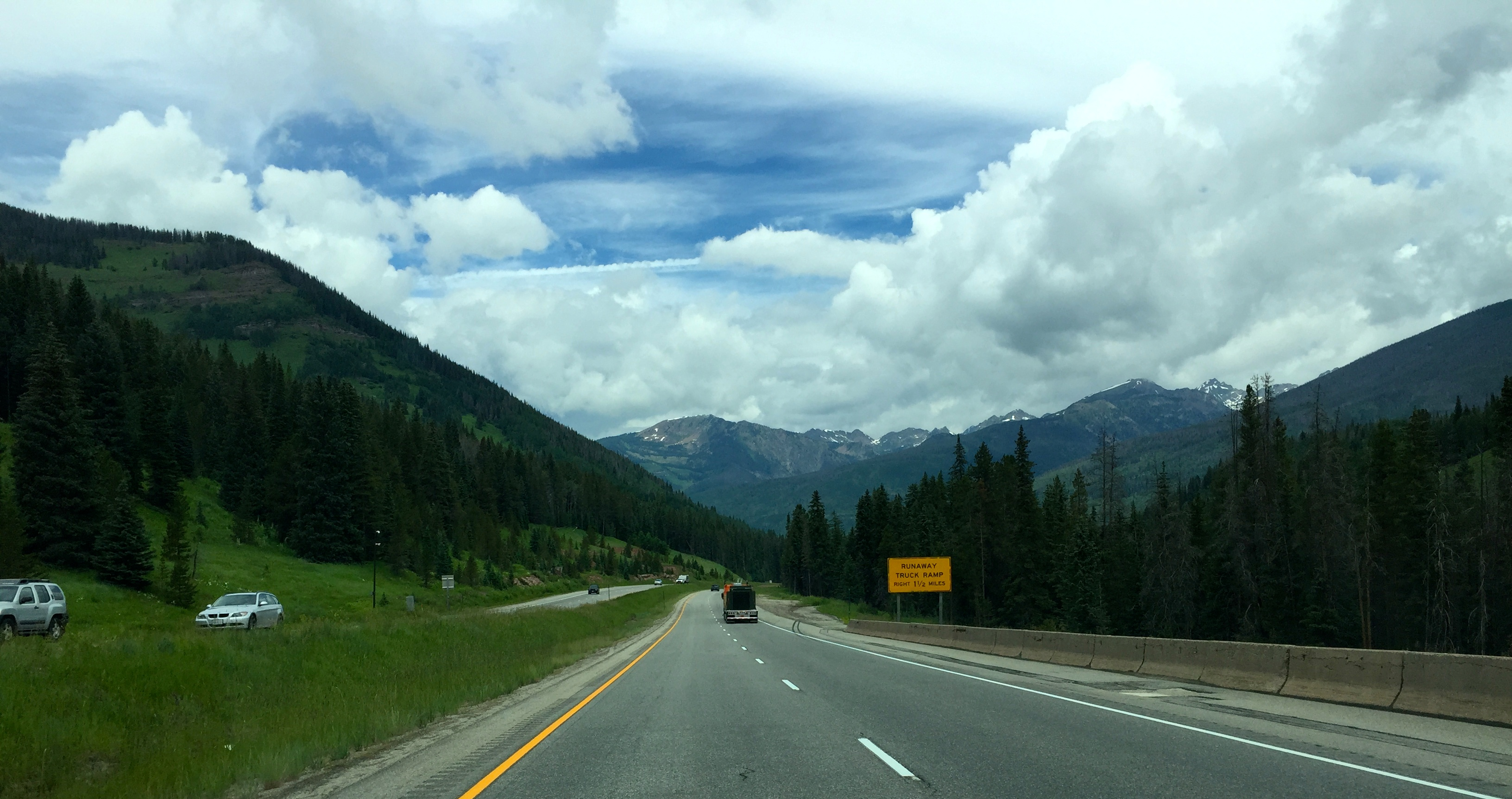 Our Driving Trip Out West: Carved Rocks, Gem-filled Rocks, and The Rockies
