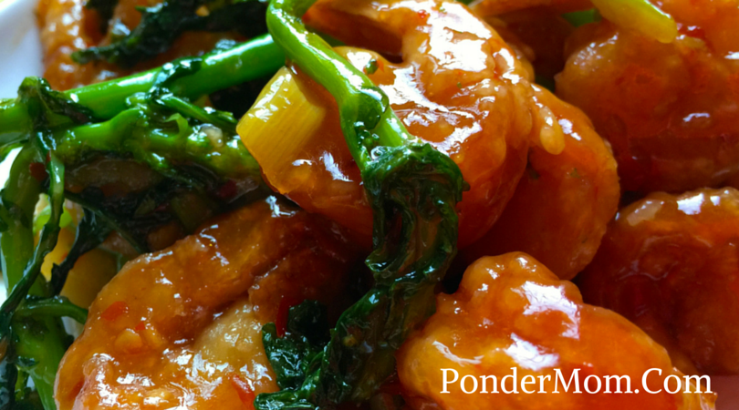 General Tso's Shrimp with Broccolini: So Good You'll Be Licking Your Chops . . . Sticks (Sorry.)