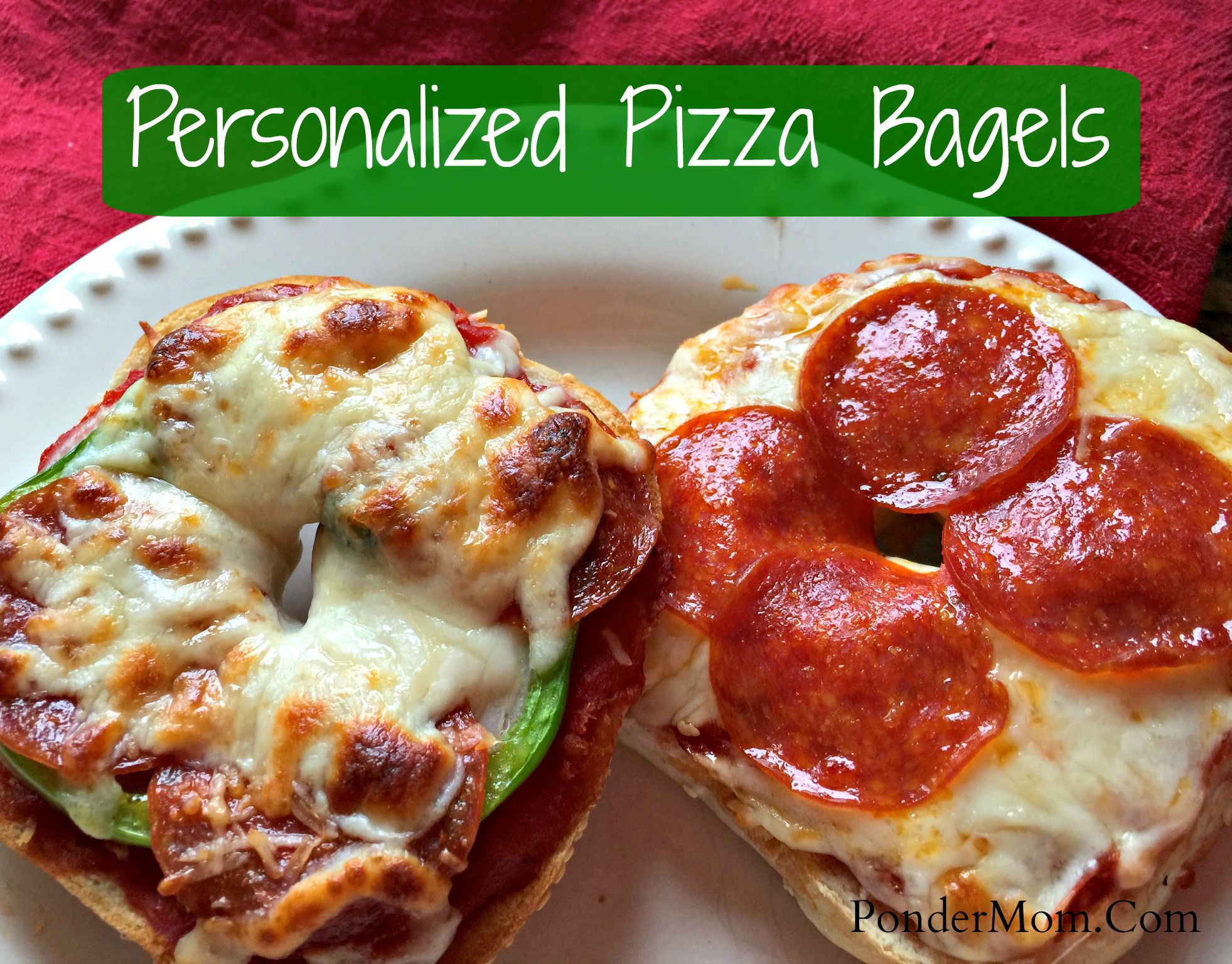 6 Super Simple Meals for New College Cooks Part II: Personalized Pizza Bagels, & Korean Beef