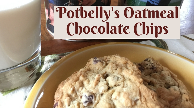 Pondermom Com Blog Archive Potbelly Oatmeal Chocolate Chip Cookies