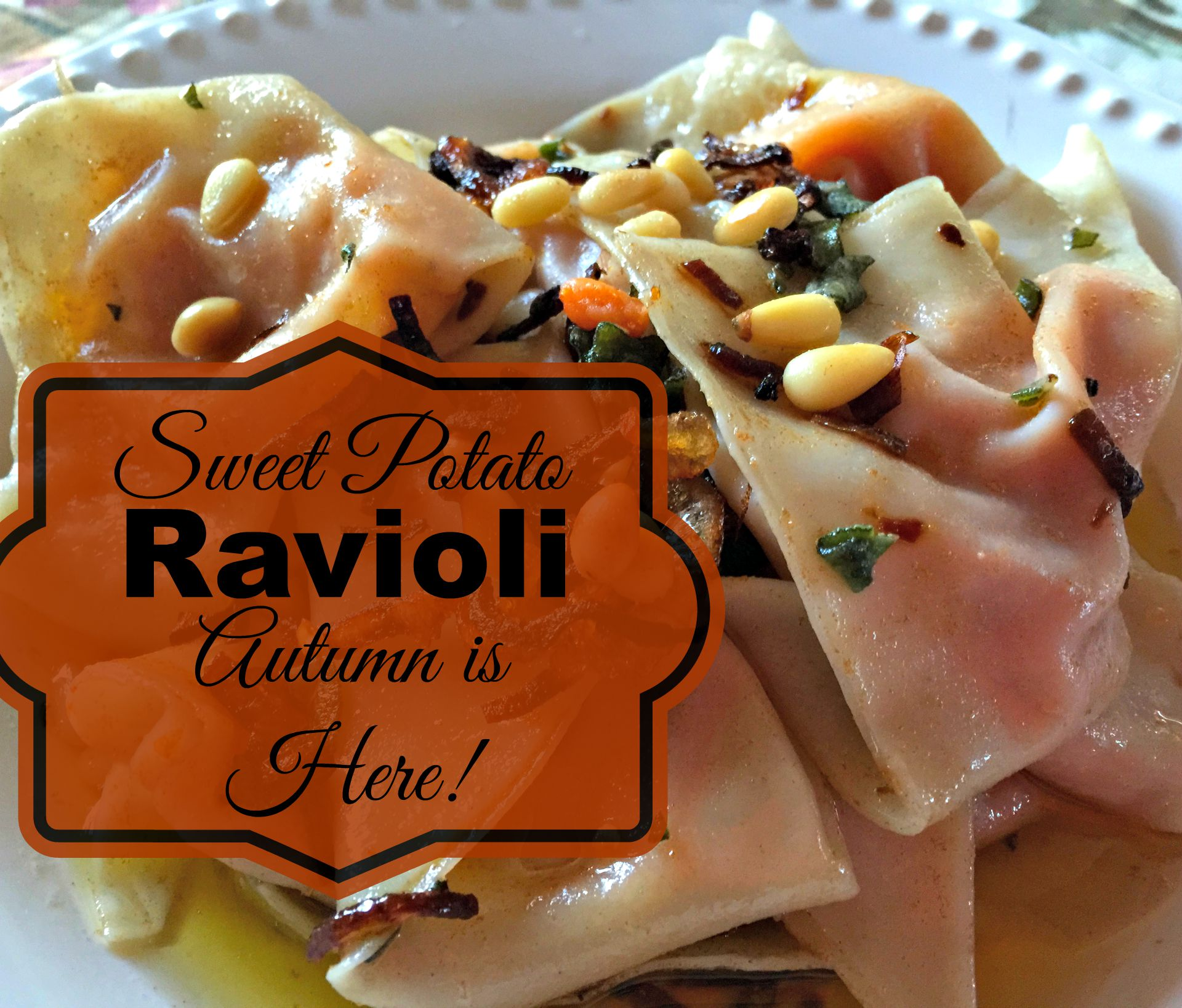 Autumn Squash Ravioli With Sage Brown Butter Sauce Recipe — Dishmaps