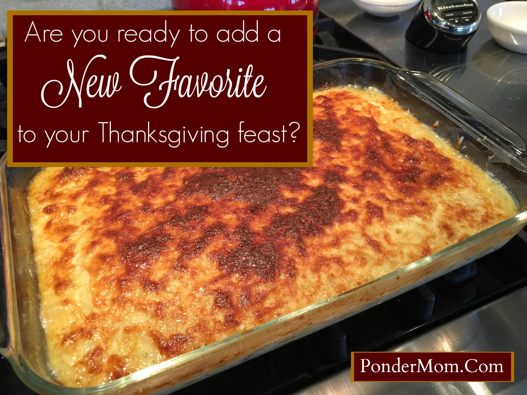 How About Serving a New Thanksgiving Side Dish?: Onion Casserole with Parmesan Crust