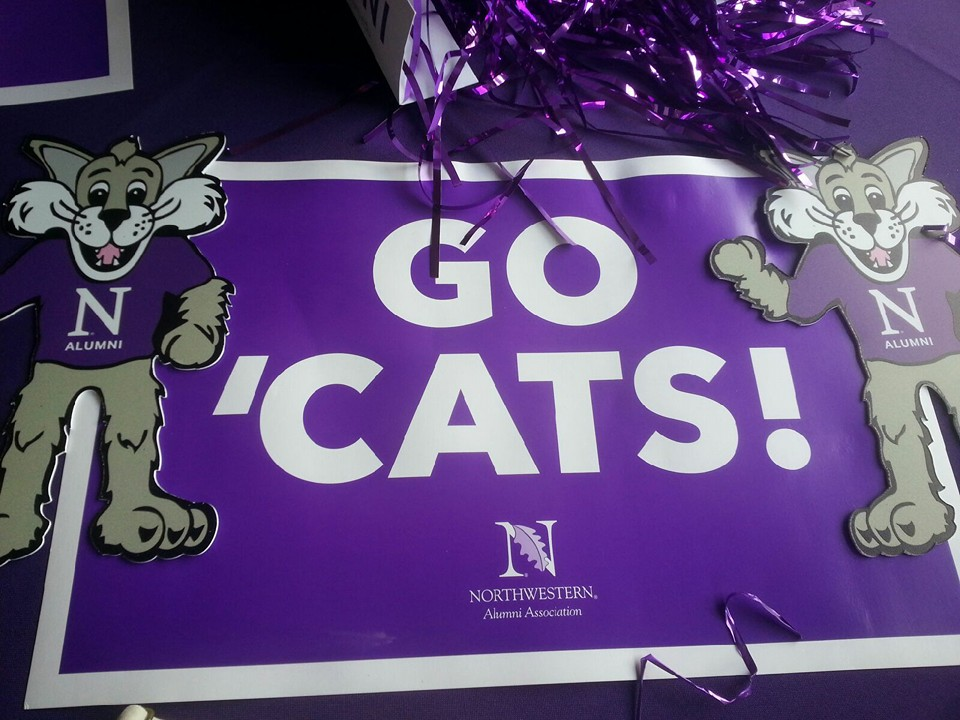 Our Northwestern Outback Bowl Experience: Dogs and Rats and Wildcats