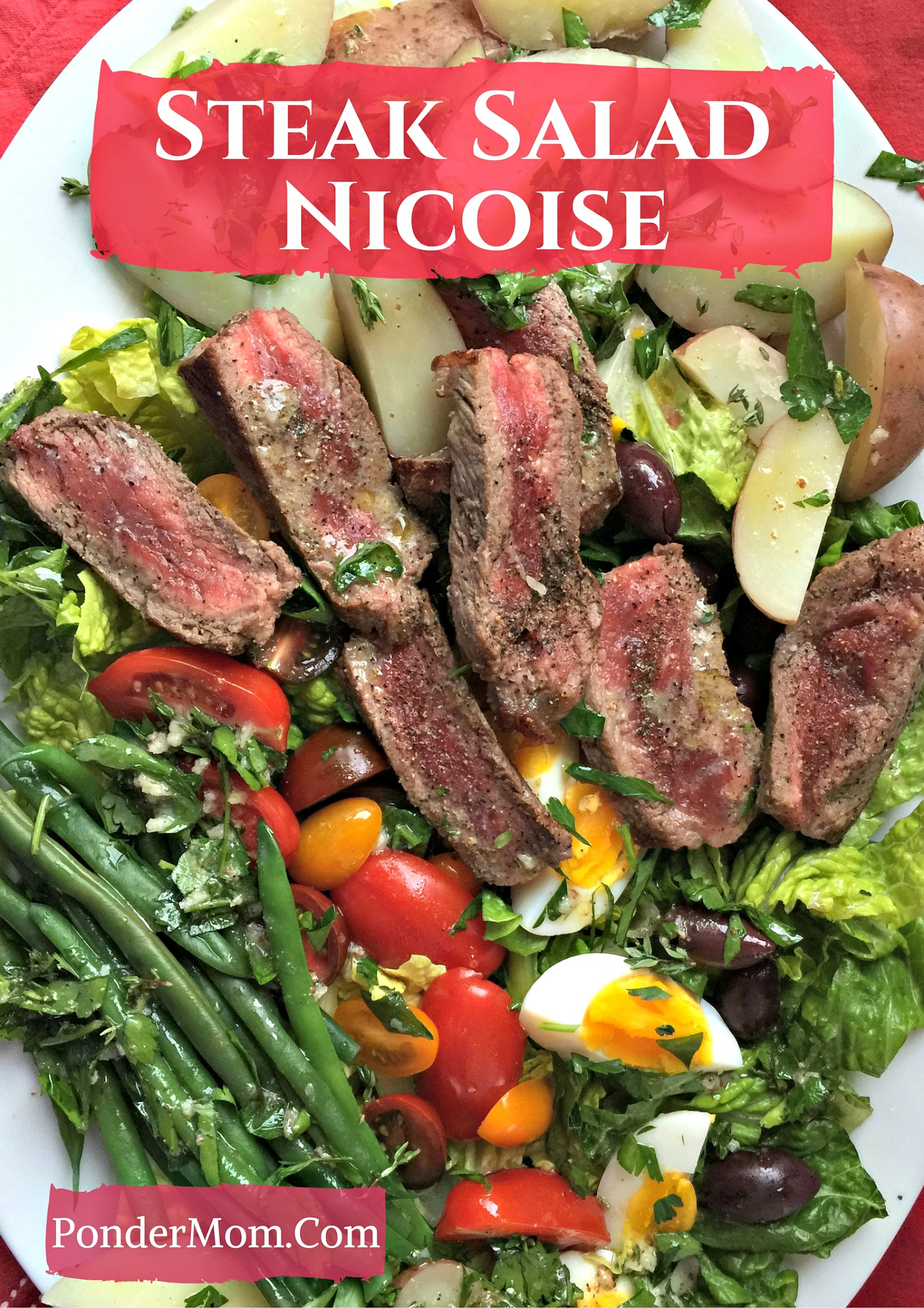 Healthy Meal #4: Steak Salad Nicoise – A Hearty Winter Lunch or Dinner . . . or Linner