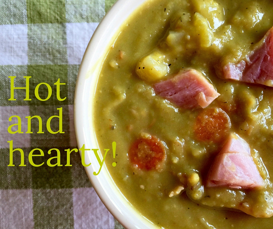Split Pea Soup with Ham: Perfect for These Blustery Early Spring Days