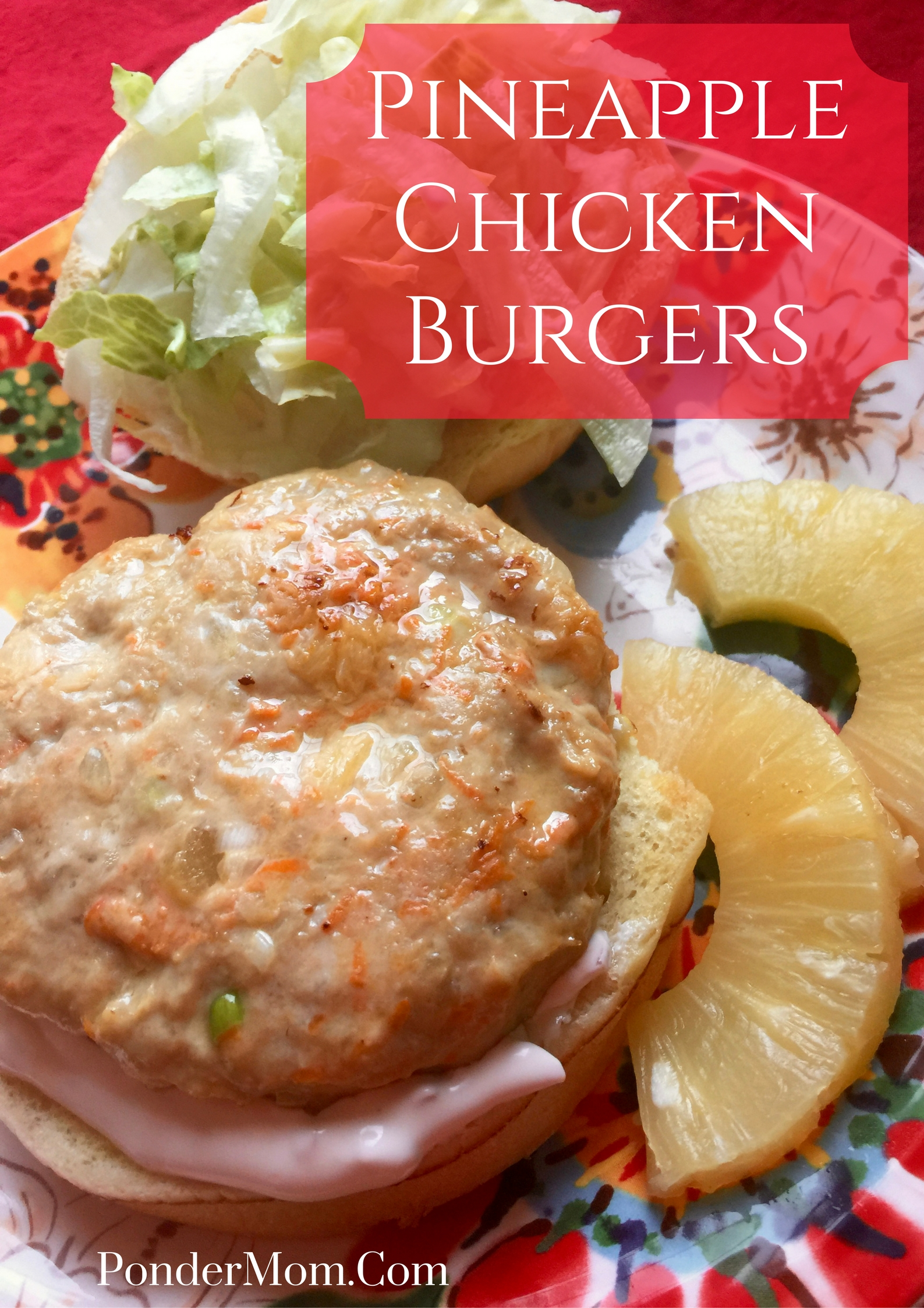 Pineapple Chicken Burgers: A Deliciously Different Weeknight Meal!